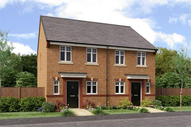 """Thumbnail Semi-detached house for sale in """"The Burroughs"""" at Former Sunderland College, Shiney Row"""