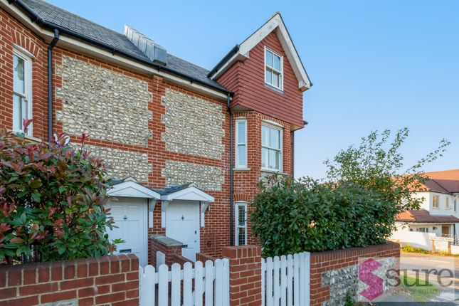 Thumbnail End terrace house to rent in Falmer Road, Rottingdean, Brighton
