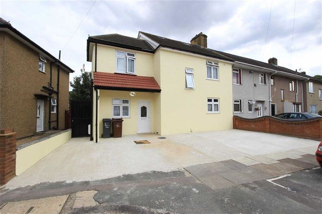Thumbnail End terrace house for sale in Campden Crescent, Dagenham, Essex