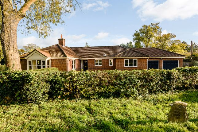 Thumbnail Detached bungalow for sale in Main Road, Swardeston, Norwich