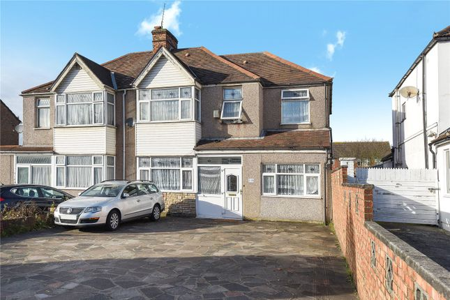 Thumbnail Semi-detached house for sale in Church Road, Northolt, Middlesex