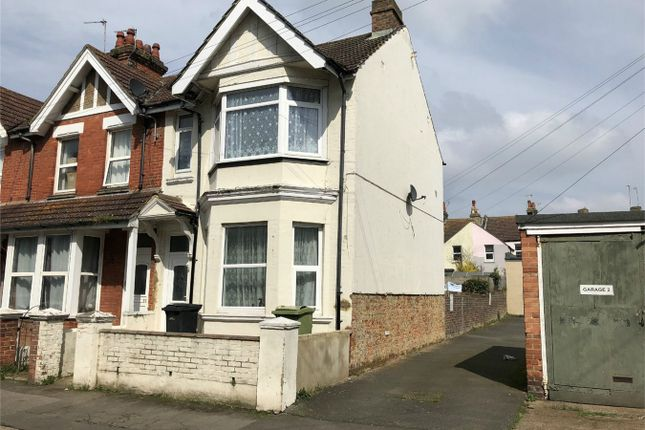 Thumbnail End terrace house to rent in Reginald Road, Bexhill On Sea, East Sussex