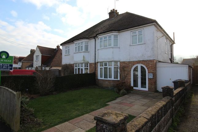Thumbnail Semi-detached house for sale in Wannock Avenue, Willingdon, Eastbourne