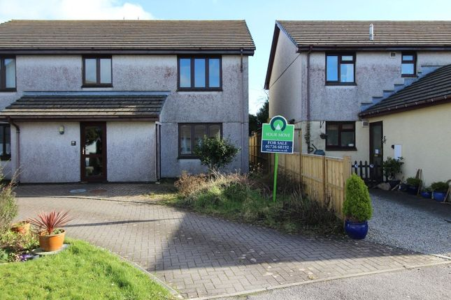 Thumbnail Flat for sale in Tor View, Bugle, St. Austell