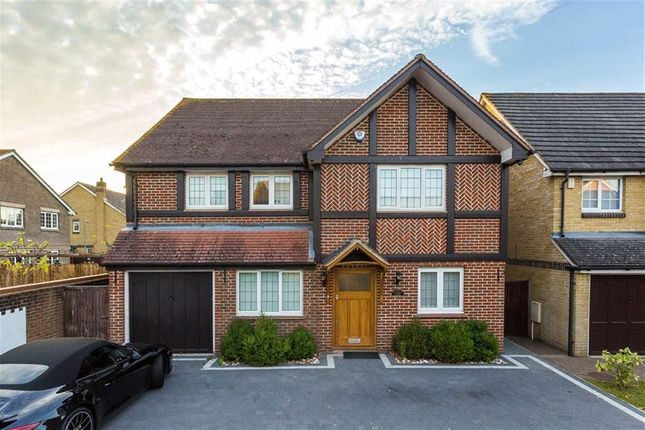 Thumbnail Detached house for sale in Starkey Close, Cheshunt, Hertfordshire
