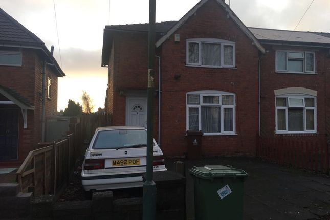 Webster Road, Walsall WS2, 3 bedroom semi-detached house for
