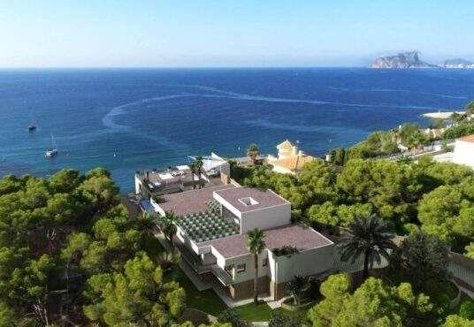 Thumbnail Villa for sale in Calle Del Dr. Calatayud, 03724 Moraira, Alicante, Spain