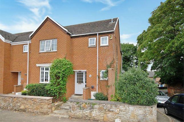 Thumbnail End terrace house for sale in High Street, Hardingstone, Northampton