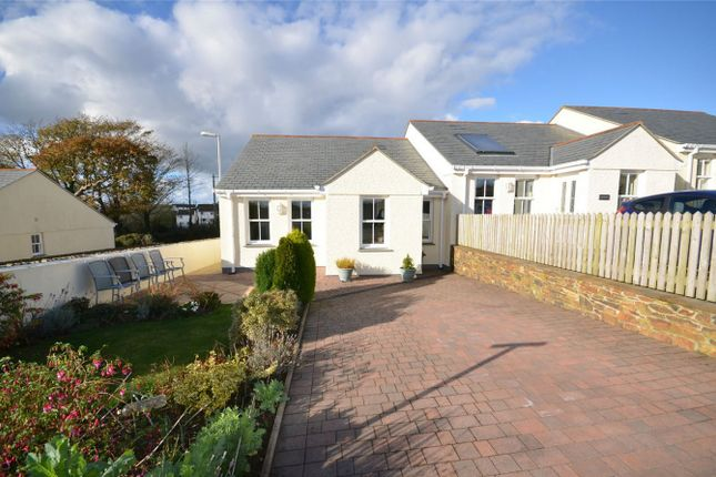 Thumbnail Terraced bungalow for sale in School Hill, Shortlanesend, Truro, Cornwall