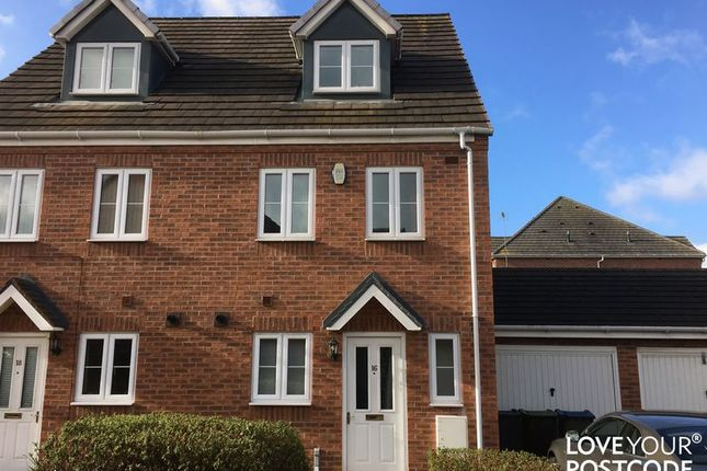 Thumbnail Semi-detached house for sale in Tame Street, West Bromwich, Sandwell