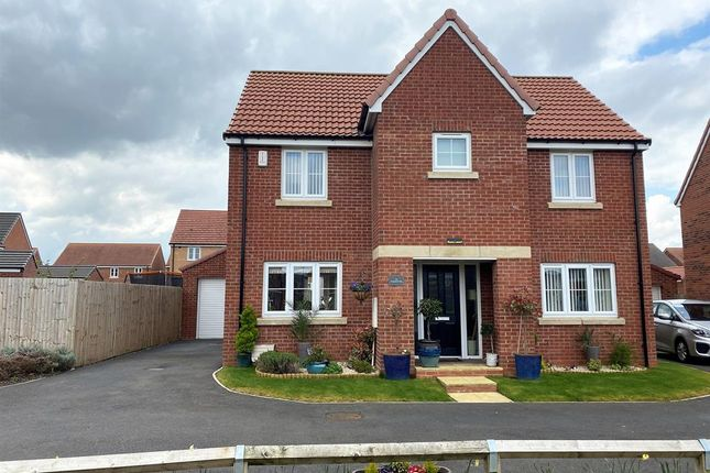 Thumbnail Detached house for sale in Honeysuckle Way, Thirsk
