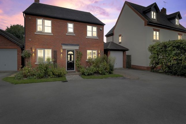Thumbnail Detached house for sale in Alexandra Drive, Yoxall, Burton-On-Trent