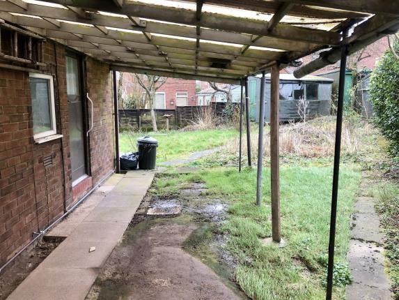 Garden of Dain Place, Porthill, Newcastle Under Lyme, Staffs ST5