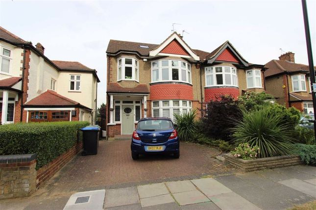 Thumbnail Semi-detached house to rent in Green Moor Link, Winchmore Hill, London