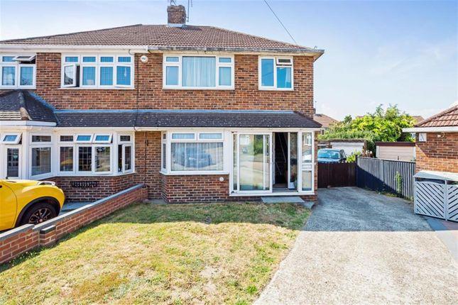 Thumbnail Semi-detached house for sale in Wharfedale Road, Fleet Est, Dartford