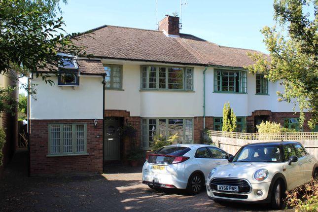 Thumbnail Semi-detached house for sale in Horringer Road, Bury St. Edmunds