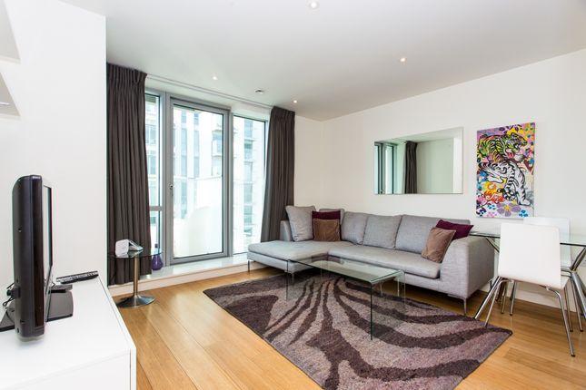 Living Room of Pan Peninsula Square, East Tower, Canary Wharf E14