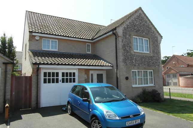 Thumbnail Detached house to rent in Field Grange, Lowestoft