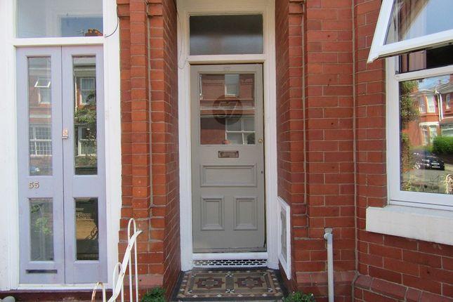 Front Door of Carlton Street, Old Trafford, Manchester M16