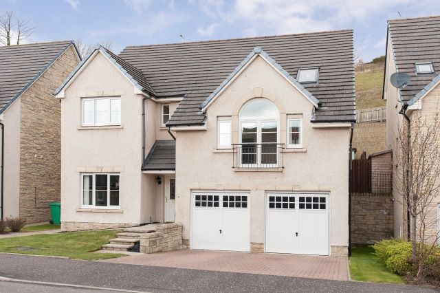 Thumbnail Detached house for sale in Inchgarvie Avenue, Burntisland, Fife