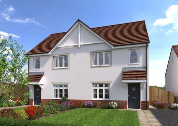 Thumbnail Semi-detached house for sale in Cae Celyn, Maes Gwern, Mold, Flintshire