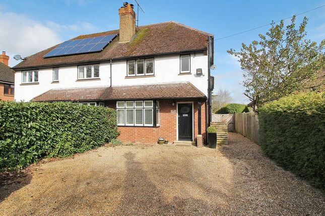 Thumbnail Semi-detached house for sale in Crawley Down Road, Felbridge, Surrey