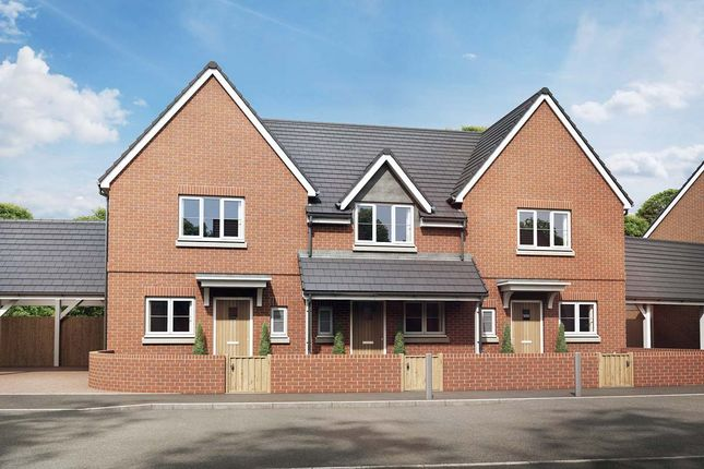 Thumbnail Semi-detached house for sale in The Gerbera, Owsla Park, Bloswood Lane, Whitchurch, Hampshire