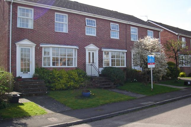 Thumbnail Terraced house to rent in Stonebridge Close, Marlborough