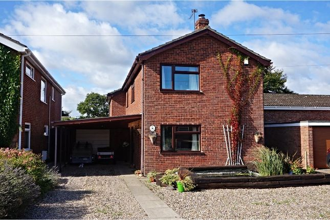 Thumbnail Detached house for sale in Charles Close, Norwich