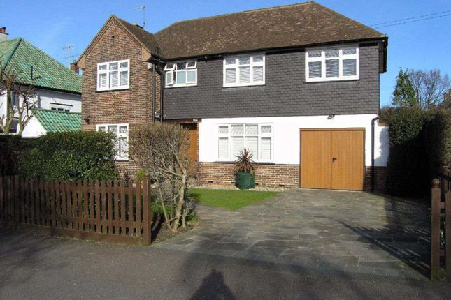 Thumbnail Detached house for sale in Reddings Avenue, Bushey
