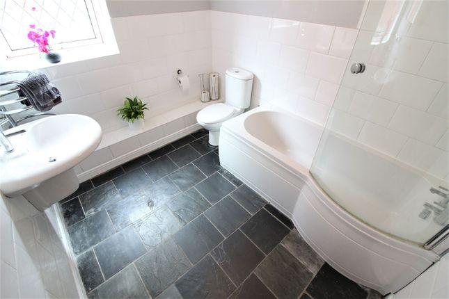 Bathroom of County Road, Leeswood CH7