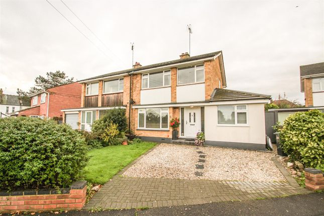 Thumbnail Semi-detached house for sale in Chalfont Close, Leigh-On-Sea