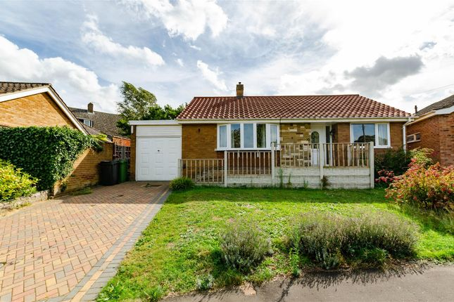 Thumbnail Detached bungalow for sale in Longdell Hills, New Costessey, Norwich