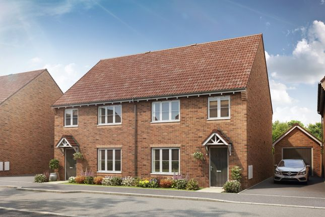 Thumbnail Semi-detached house for sale in St Andrews Court, Didcot
