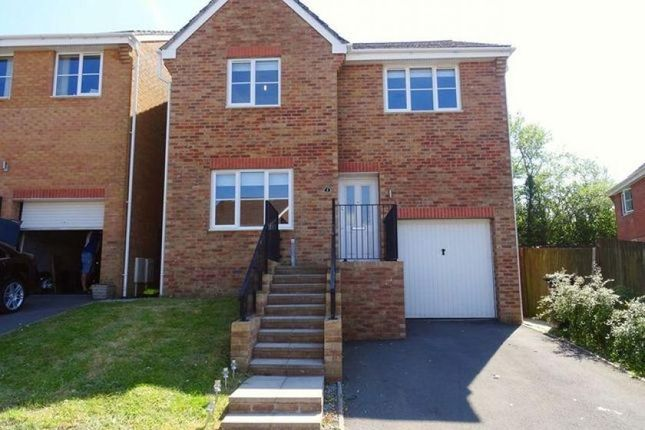 Thumbnail Detached house for sale in Cedar Close, Mountain Hare, Merthyr Tydfil