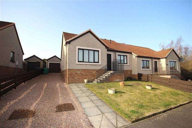 Thumbnail Semi-detached bungalow for sale in 17, Holly Park, Cupar, Fife