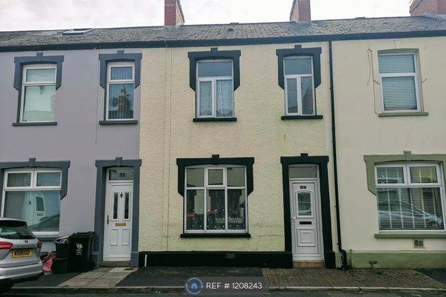 Thumbnail Terraced house to rent in Oakley Street, Newport