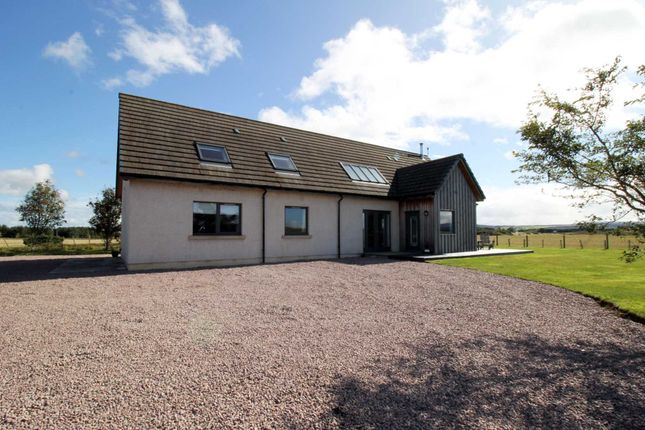 Thumbnail Detached house for sale in Moss Side, Nairn