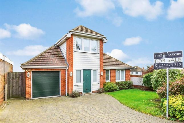 Thumbnail Detached house for sale in Winterstoke Crescent, Ramsgate, Kent