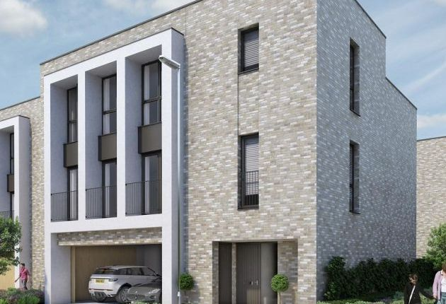Thumbnail Terraced house for sale in The Rosselino At Aura, Long Road, Cambridge