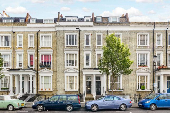 Exterior of Eardley Crescent, Earls Court, London SW5