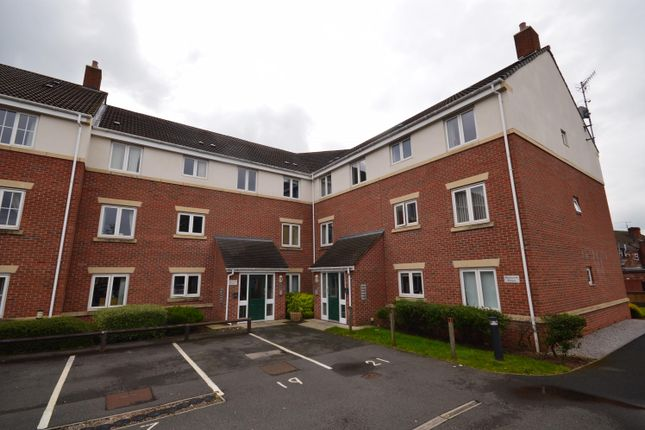 Thumbnail 2 bed flat for sale in Moorcroft House, Archdale Close, The Spires, Chesterfield