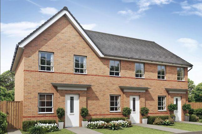 "Thumbnail Semi-detached house for sale in ""Richmond"" at Llantarnam Road, Llantarnam, Cwmbran"