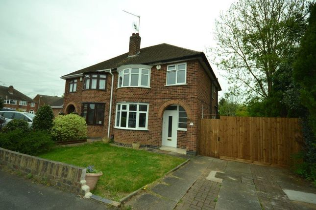 Thumbnail Property for sale in The Fairway, Blaby, Leicester