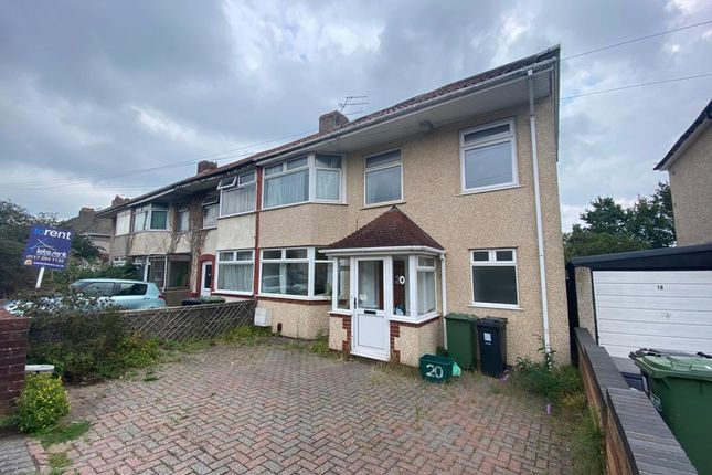 Thumbnail End terrace house to rent in Mortimer Road, Filton, Bristol