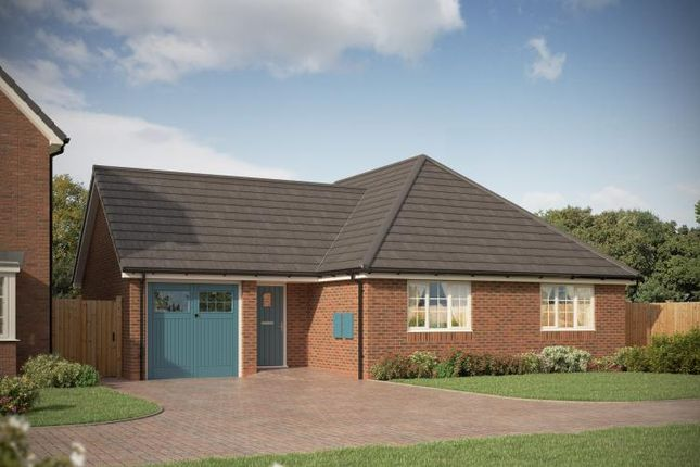Thumbnail Semi-detached bungalow for sale in Burntwood Road, Norton Canes, Staffordshire
