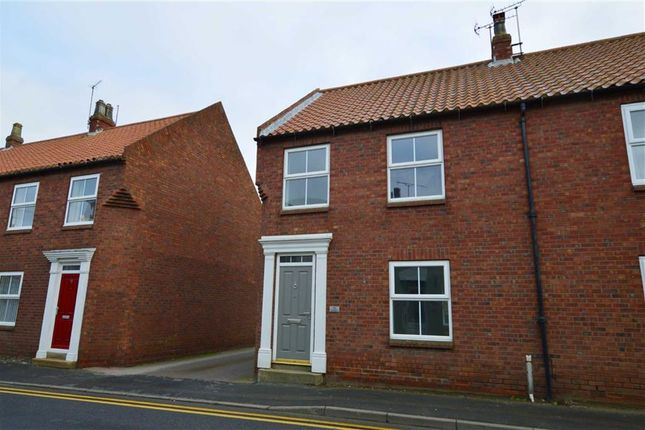 Thumbnail End terrace house to rent in Southgate, Hornsea, East Yorkshire