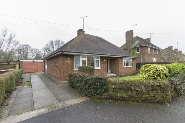 Thumbnail Detached bungalow for sale in Holmgate Road, Clay Cross, Chesterfield