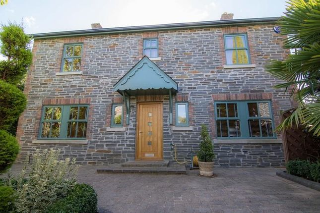 Thumbnail Detached house for sale in Church View, Llangattock, Crickhowell