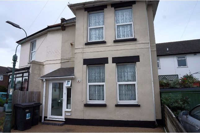 Thumbnail Terraced house for sale in Gladstone Road East, Bournemouth